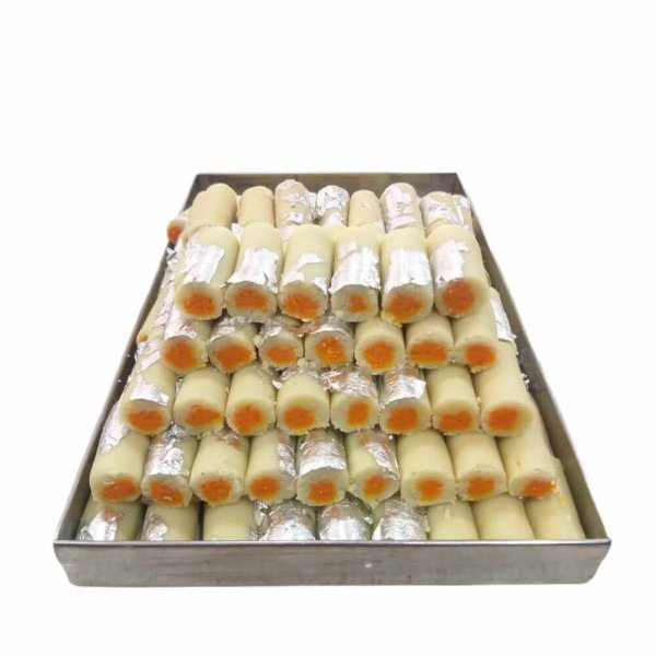 orange mawa roll corner sweets